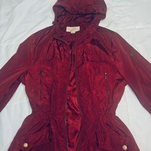 Michael Kors Hooded Light Rain Coat